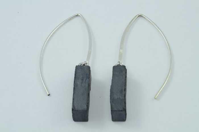 Ohrhänger Schiefer