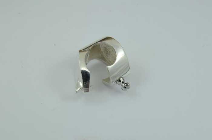 Wechselschließe Adapter 'Clipschlaufe 925er Silber'